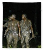 On Patrol Fleece Blanket