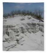 On Sand Island Fleece Blanket