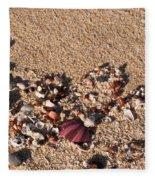 On The Beach 02 Fleece Blanket
