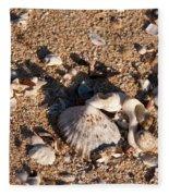On The Beach 03 Fleece Blanket
