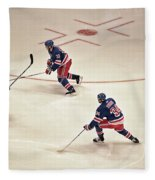 On The Offense Fleece Blanket