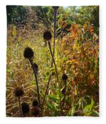 On The Prairie #4 Fleece Blanket