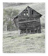 On The Prairie Fleece Blanket