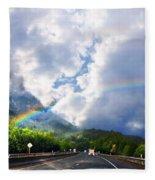 On The Road Fleece Blanket