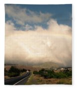On The Road To Hilo Fleece Blanket