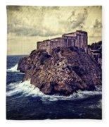 On The Rock - Dubrovnik Fleece Blanket