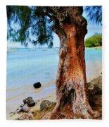 On The Shore 1. Mauritius Fleece Blanket