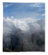 On The Top Of The World... Fleece Blanket
