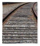 On The Tracks Fleece Blanket