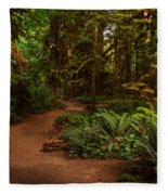 On The Trail To .... Fleece Blanket