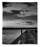 On The Waterfront Fleece Blanket