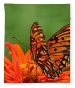 On The Wings Of A Butterfly Fleece Blanket