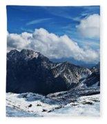 On Top Of Germany Fleece Blanket