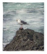 On Watch Fleece Blanket