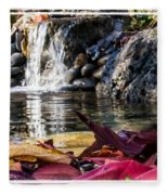 On Waters Edge Fleece Blanket