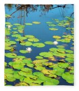 Once Upon A Lily Pad Fleece Blanket