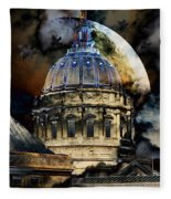 Once Upon A Time On A Warm Summers Night In San Francisco 5d22548 Fleece Blanket