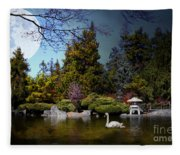 Once Upon A Time Under The Moon Lit Night . 7d12782 Fleece Blanket
