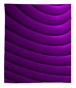 Ondulation-01 Fleece Blanket