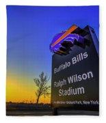 One Bills Drive Fleece Blanket