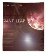 One Giant Leap Fleece Blanket