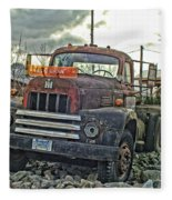 One Headlight International Fleece Blanket