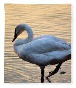 One Last Swim Fleece Blanket