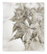 One Misty Moisty Morning Fleece Blanket
