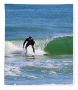 One Surfer Fleece Blanket