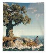 One Tree Island Fleece Blanket