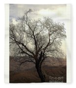 One Tree Fleece Blanket