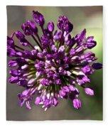 Onion Flower Fleece Blanket