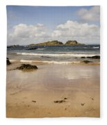 Only Clouds From Skies Fleece Blanket