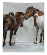 Only The Strong Survive II Fleece Blanket