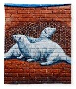 Ontario Heritage Mural 3 Fleece Blanket