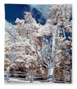 Ontario Summer Color Infrared Fleece Blanket