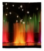 Open Air Theatre Rainbow Fountain Fleece Blanket