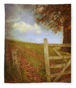 Open Country Gate Fleece Blanket
