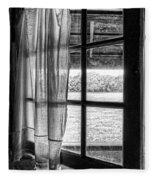 Open Window Fleece Blanket