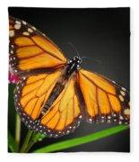 Open Wings Monarch Butterfly Fleece Blanket