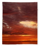 Eye In The Sky Fleece Blanket