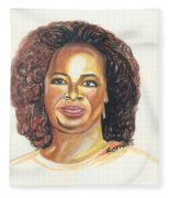 Oprah Winfrey Fleece Blanket