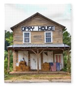 Opry House - Square Fleece Blanket
