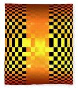 Optical Illusion Fleece Blanket