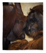 Orangatang Love Fleece Blanket