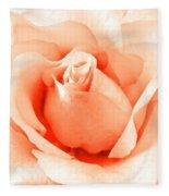 Orange Blossom Fleece Blanket