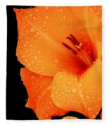 Orange Blossom Special Fleece Blanket
