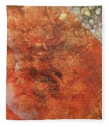 Orange Crush Fleece Blanket