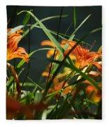 Orange Natural Beauty...   # Fleece Blanket