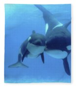Orca Fleece Blanket